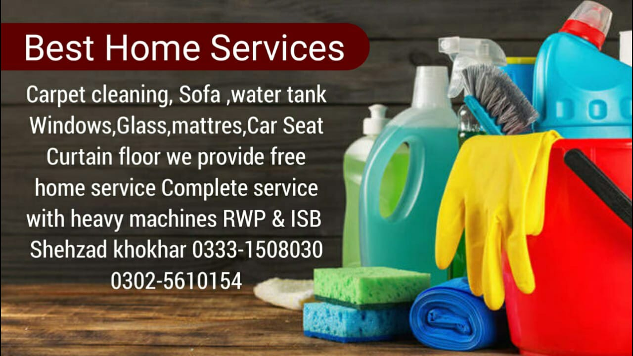 Best Home Cleaning Services in Islamabad