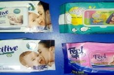 Baby Wipes With Cap Excellent Quality